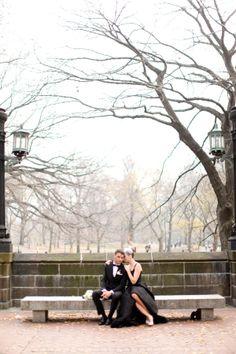 Lincoln Center Wedding Photo Shoot by Bellafare + Jen Huang
