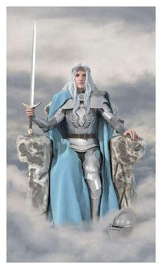 Queen of Swords - Vice Versa Tarot