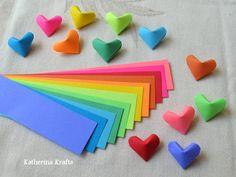 Corações de origami                                                                                                                                                                                 More