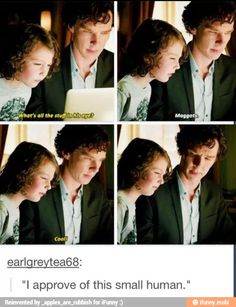 I loved the way Sherlock interacted with Archie. :) guys but look at how similar Archie looks to young sherlock. Maybe he's the reason sherlock approved of him. Sherlock Fandom, Sherlock John, Bbc Sherlock Holmes, Jim Moriarty, Watson Sherlock, Sherlock Quotes, Sherlock Holmes Funny, Sherlock Cast, John Watson