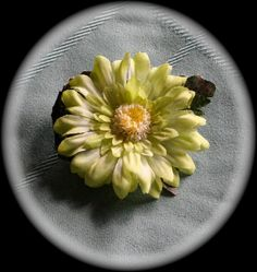 Lil Sweets~ Green Hair Flower by EllieBeas, $5.00