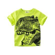 Baby Boy Clothes Summer T shirt Children Boys Top Kids Clothes Dinosaur Print Boys Cartoon Short Sleeve T shirts. T Shirt Kids, Baby Boy T Shirt, Tee T Shirt, Sport T Shirt, Boys T Shirts, Casual T Shirts, Baby Boys, Toddler Boys, Baby Boy Outfits