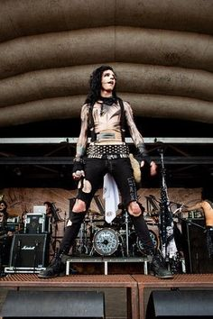 Andy Biersack- Daniella likey but NOT as much as Ben Bruce *laughs*