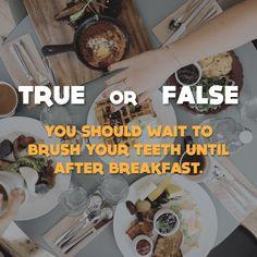 TRUE OR FALSE: Give us your best guess! #parkridgedentist