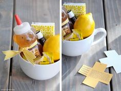 DIY Get Well kit. Visit my blog for a full product list!)