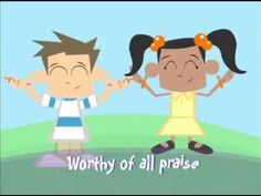 """""""How Great is Our God"""" Children's Ministry Worship Video by Yancy (+play... march"""