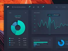 Data Dashboard by Andrei Josan 🦄 on Dribbble Dashboard Interface, Analytics Dashboard, Interface Design, Web Ui Design, Dashboard Design, Chart Design, Graphic Design, Layout Design, Design Design