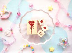 Lollipop set  stamp