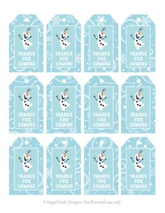 Frozen free printable number 7 - Google Search