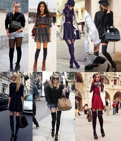 thigh/knee high socks!! This is my winter accessories for this year :D