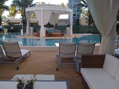 Miami, Florida.  Fontainbleau Hotel and Resort.  Where the livin' is easy.