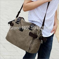 $17.10 (Buy here: https://alitems.com/g/1e8d114494ebda23ff8b16525dc3e8/?i=5&ulp=https%3A%2F%2Fwww.aliexpress.com%2Fitem%2FNew-arrival-men-s-canvas-bag-one-shoulder-inclined-shoulder-bag-Fashion-students-laptop-bag-travel%2F2022043213.html ) New arrival men's canvas bag  one shoulder inclined shoulder bag Fashion students laptop bag travel bags handbag casual for just $17.10