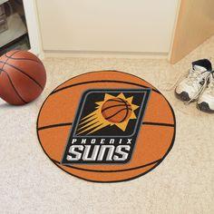 """NBA - Phoenix Suns Basketball Mat 27"""" diameter"""