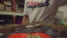 Disney Cruise Line Crew Members Give Back at Local Food Pantries