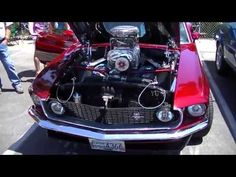 1969 Ford Mustang Mach 1 with a Blown 428 Cobra Jet at the Fabulous Ford...
