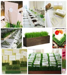 #Grass #Wedding #Centerpiece - DIY Grass Ideas