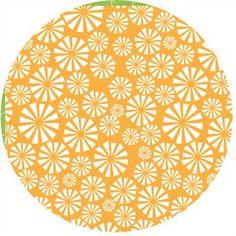 Dan Stiles Marine for Birch Fabrics 100% organic Urchin Forest Sunset