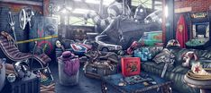 """Illustration for a smartphone/PC game based on the new amazing Steven Spielberg's film """"Ready Player One"""". Ready Player One Merchandise, Ready Player One Movie, Oasis, Gamer Couple, Gamer Tattoos, Gamer Meme, Gamer Tags, Gamer 4 Life, Game Reserve"""