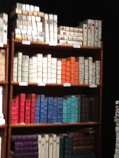 High Point Market Spring 2012-Loads of options for covered books at E. Lawrence Ltd.