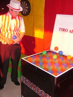 Juegos de kermes, un espacio diferente