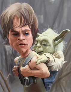 Luke and Yoda by ~rico3244 on deviantART