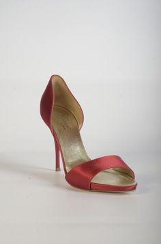 42112 Escarpin ouvert à talon Wedding Shoes, Peeps, Stiletto Heels, Peep Toe, Collection, Fashion, Pumps, Heels, Bhs Wedding Shoes
