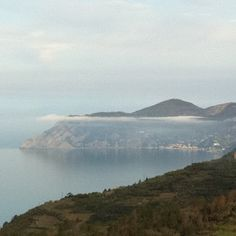 Morning fog over Monterosso