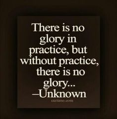 """There is no glory in practice, but without practice, there is no glory"" #piano #quote"