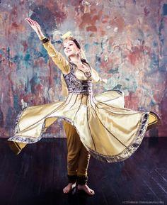 Indian Dance Kathak. Dancer Oxana from Moscow, Tribalmafia Studio