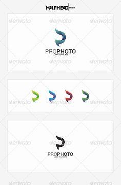 ProPhoto    Logo Template #p #r #gradient • Download ➝ https://graphicriver.net/item/prophoto-logo-template/8531755?ref=pxcr