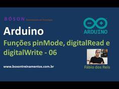 #Arduino - Funções pinMode, digitalRead e digitalWrite - 06                                                                                                                                                     Mais