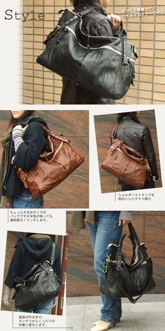 6e255dbdab4e o-shoku | Rakuten Global Market: Creed • recommended! A 2-way Boston / bag  genuine leather bag ladies mens bag tote bag crack shoulder bag diagonally  over ...
