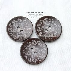 wholesale(70pcs/lot) large wooden buttons bulk  for garment accessories hat bag parts 35mm BY0076-in Buttons from Apparel & Accessories on Aliexpress.com