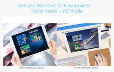 Teclast X98 Plus za Windows 10 + Android 5.1 Tablet PC-189,99 i Besplatno slanje | GearBest.com