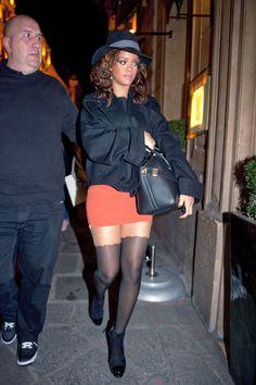 Rihanna street style 2011 brownanna talk that talk era