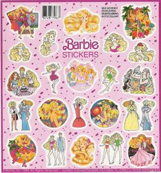 #90s #barbie #stickers