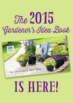 Just in time for spring, our 2015 Gardener's Idea Book! Here's 36 pages of ideas on how to play in the dirt...request a free copy in the mail right here http://emfl.us/xaLd   Or view online, http://emfl.us/BdLd