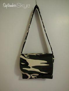 24032f1c68 Boy Messenger Bag in Camo - Kids Bag - Little kids Handbag