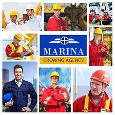 MARINA CREWING AGENCY         OFFSHORE JOBS office@marinacrewing.com