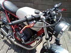 "CBX 250 Cafe Racer ""Two Wheels Brazil""   Garagem Cafe Racer"