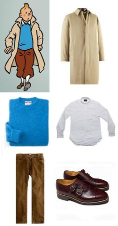 Your Tintin fashion guide - in case you want to see the movie in costume, or just really like his look!