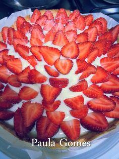 Torta de Morangos da Paula Gomes - Culinária-Receitas - Mauro Rebelo