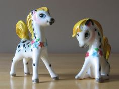 Vintage Rare PY / Miyao Spotted Pony S&P Shakers - Green Letter Japan