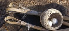 Cherokee Indian Stickball Game.
