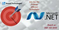 .NET Framework is a #software framework developed by Microsoft. Besant technologies offer best #dotnet training in #Chennai
