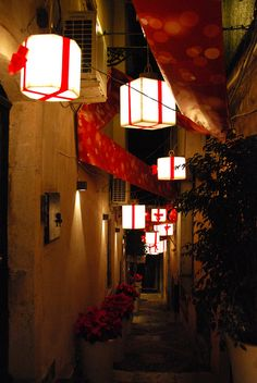 Christmas in Taormina, Italy