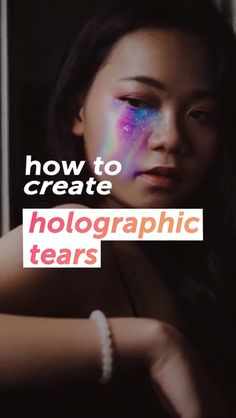 You don't need fancy software to cry surreal, holographic tears 😭✨ If you have a phone you're good to go! Click through to start creating on PicsArt NOW. Be sure to check out our 'PicsArt: Tutorials Photoshop Video, Photoshop Tutorial, Photoshop Actions, Photo Editing Vsco, Image Editing, Editing Apps, Video Editing, Photography Filters, Photoshop Photography