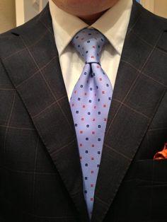 Sam Hober Tie: Macclesfield Printed Silk Tie 20 http://www.samhober.com/macclesfield-print-silk-ties/