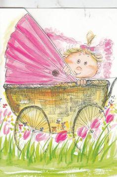 Marjolein Bastin, Whimsical Art, Acrylics, Finland, Cute Kids, Cute Art, Illustrators, Art Projects, Children