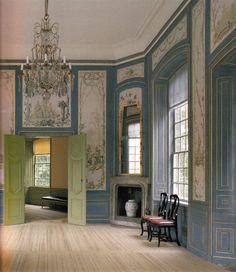 Chinese Pavilion Blue Salon Drottningholm